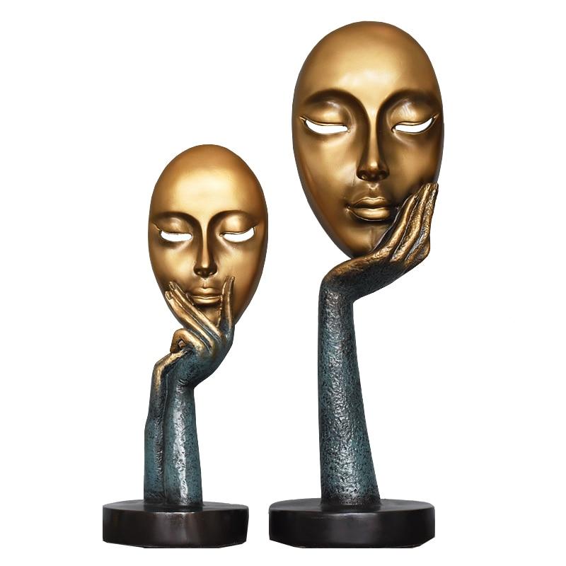 Bureau de style européen Salon Bureau Ornement Décor Sculpture D'art Rétro Résine Artisanat Décoration De La Maison Accessoires - 4