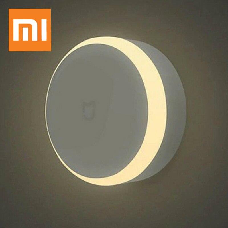 Xiaomi Mijia LED pasillo luz de la noche lámpara de infrarrojos fotosensibles y IR Sensor de movimiento del cuerpo de casa inteligente de Control remoto
