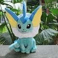 Бесплатная доставка Pokemon Плюшевые Игрушки 12 дюймов Большой Сидя Vaporeon Мягкие Чучела Животных Игрушка Коллекционная Рождественский Подарок