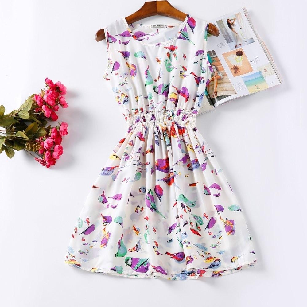HTB13T.dHFXXXXX7XXXXq6xXFXXXf - Summer Women Dress Vestidos Print Casual Low Price