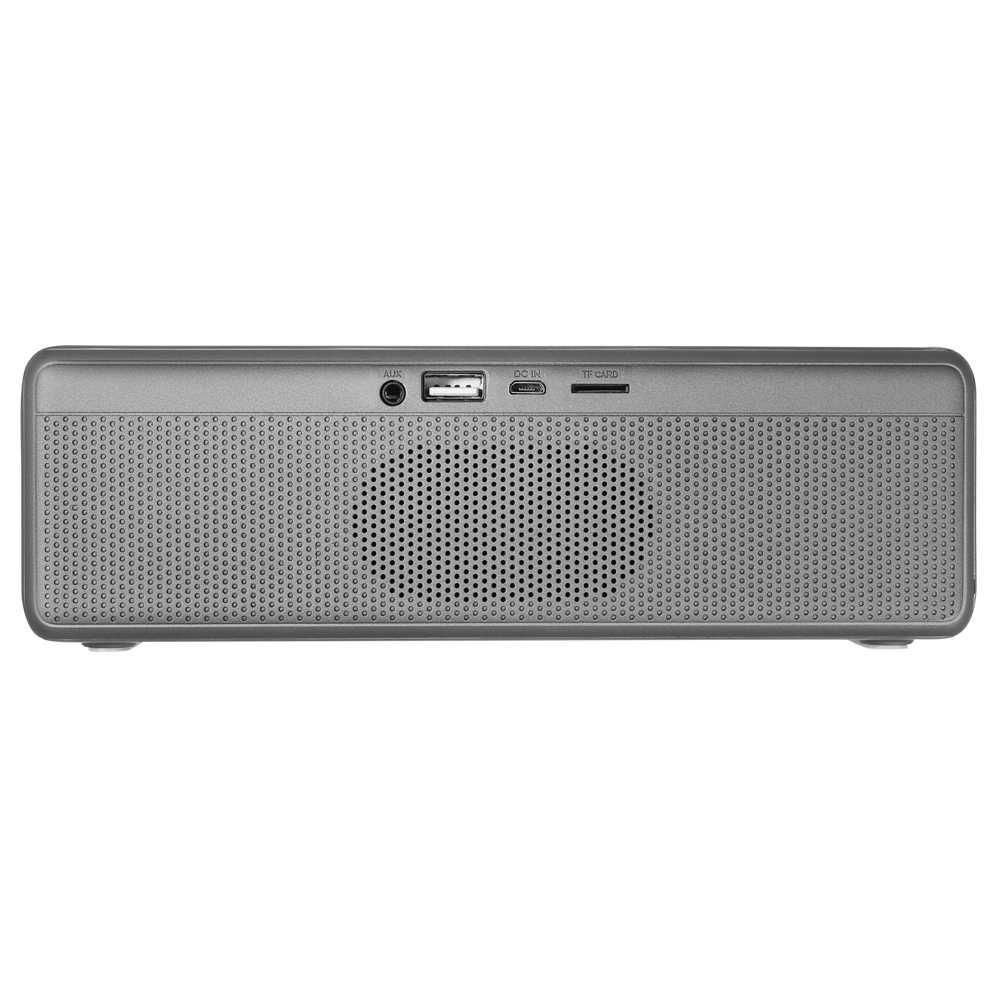 NBY głośnik Bluetooth przenośne głośniki bezprzewodowe subwoofer ze wzmocnieniem basów głośniki z kartą Mic TF na telefon komórkowy