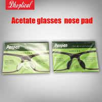 free shipping acetate glasses nose pad silicone nose pad panpan 100pair 3M glue wholesale