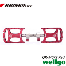 Qquick release bike pedals Free shipping high quality made in China mountain bike alloy Wellgo pedals QRD-M079