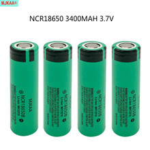 4pcs/lot Original NCR 18650 Rechargeable Battery 3