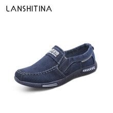 Hot Sell Vulcanize Shoes Men Casual Outdoor Flats Man Canvas Plus Size 38-46 Male Footwear Sneakers