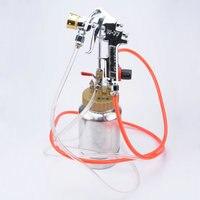 3.0mm nozzle 2L Pneumatic Multicolor Gun Paint Water Paint Water Colorful Pressure Tank Spraying Machine True Paint