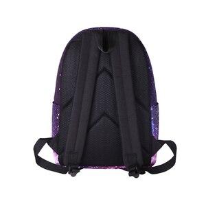 Image 2 - Schoolbag Bagpack Back Pack Portfolio School Bag Feminine Backpack Space Female Women Feminina For Boys Girls Teenager Sac a dos
