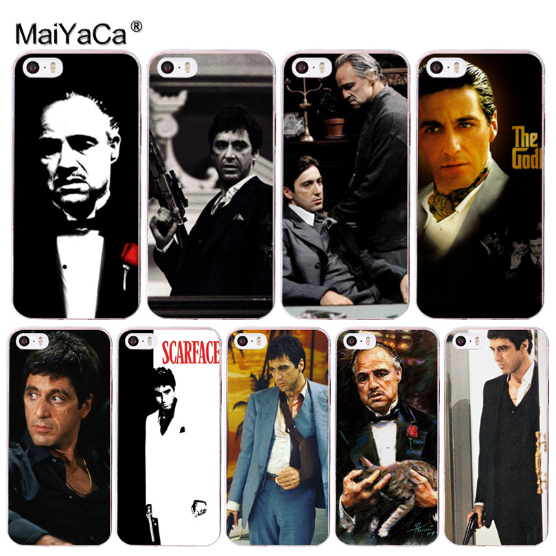MaiYaCa Scar face the Godfather Man lovely Phone Accessories Case for Apple