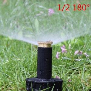 "Image 3 - 1PC 90 360 Degree Pop up Sprinklers Plastic Lawn Watering Sprinkler Head Adjustable Garden Spray Nozzle 1/2"" Female Thread"