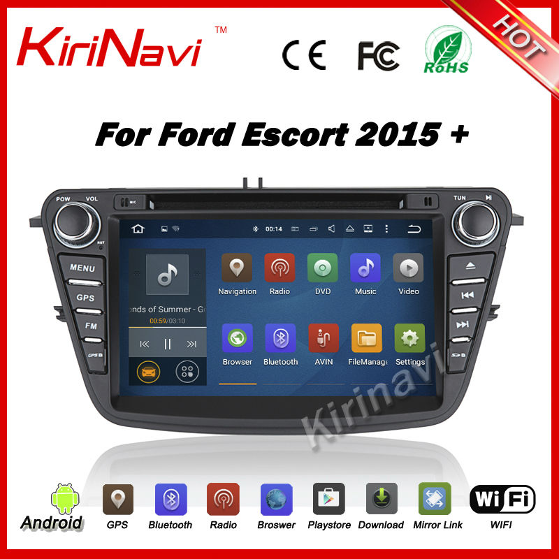 kirinavi android 7 1 multimedia gps for ford ecosport 2015. Black Bedroom Furniture Sets. Home Design Ideas