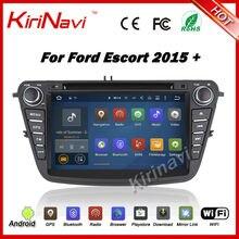 Kirinavi Android 7.1 multimedia GPS para Ford Ecosport 2015 + HD 1024*600 pantalla táctil sistema de navegación WiFi 3G Bluetooth