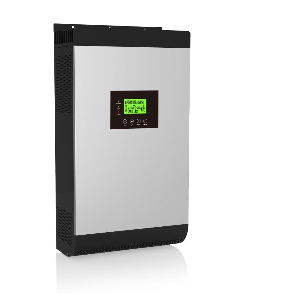 цена на Hybrid Inverter 4000W 48V220V 5000Kva on/off Grid Inverter with 80A MPPT Inverter and WIFI Monitor Pure Sine Wave Inverter