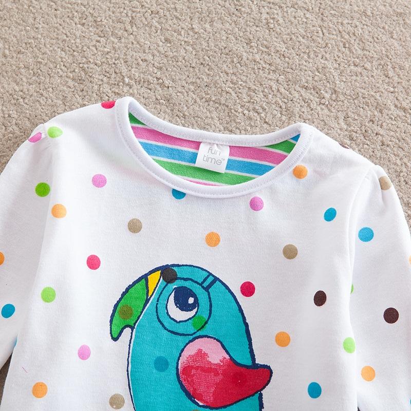 HTB13T2FbTZRMeJjSspkq6xGpXXam - Girls Long Sleeve All Year T-Shirt, Long Sleeve, Cotton, Various Designs and Prints