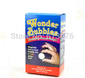 Wonder Bubbles Magic Tricks Bubble To Ball Magia Stage Illusions Gimmick Props Accessories Comedy Classic Toy