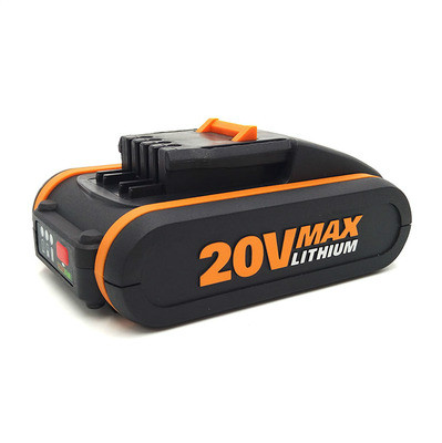 LED 20V Battery 2000mah Li-ion for Power Tool Worx WX390/WX176/WX166.4/WX372.1 WX800/WX678/WX550/WX532/WG894E WG629E/WG329E/WG2