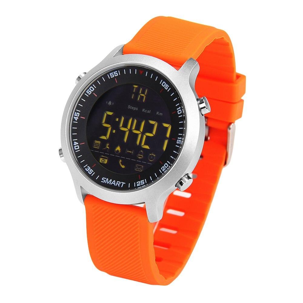 imágenes para Y6 5ATM Reloj Inteligente A Prueba de Agua IP68 Pasómetro Mensaje Recordatorio Ultra-larga Espera Xwatch Smartwatch Natación Deporte Al Aire Libre