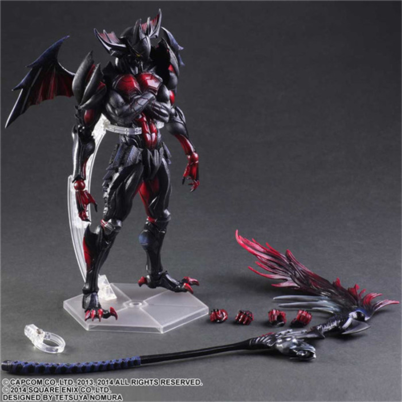 Play Arts Monster Hunter Figure 4 Ver Ultimate PA Kai Toy Model 10 25cm