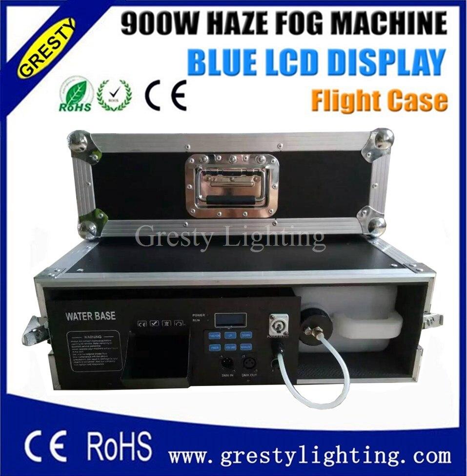 900 W Hazer Machine DMX512/contrôleur LCD/télécommande et AC220/230 V Machine à fumée DJ/Fest/maison/Bar/scène/partie Machine à brouillard