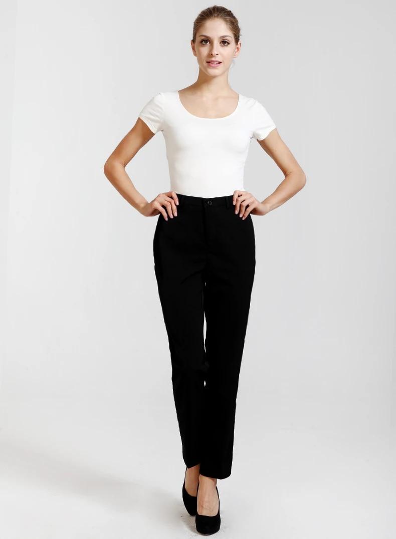 Black Work Pants Ladies