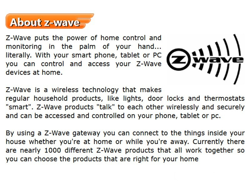 about Z-Wave
