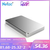 Netac K330 Portable HDD 2.5 5400RPM external Hard Disk 1TB 2TB USB3.0 disco duro externo for computer laptop Mac system