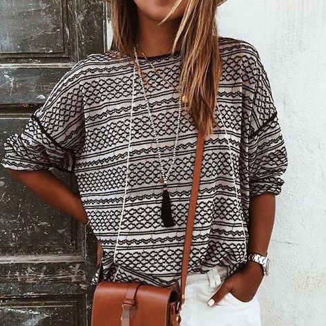 Striped T Shirts For Women
