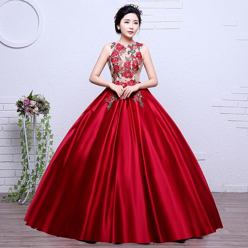 fb489259f7 ruthshen Elegant Long Prom Dresses 2018 Flowers Prints Pattern Cheap  Vestido Longo Women Sexy Formal Evening Gowns