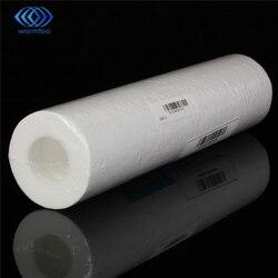 5 микрон фильтр для воды белый очиститель воды 10 дюймов картридж обратного осмоса RO. Осадочный PP Хлопок ржавчины удаления частиц
