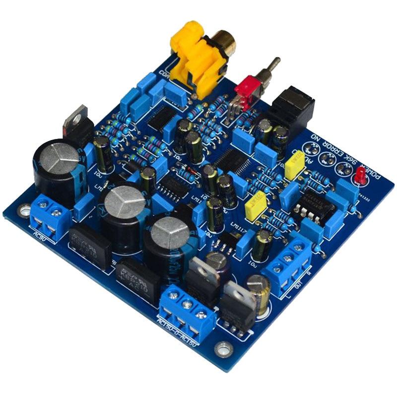 Cs8416 Hifi Dac Dekodierung Fiber Coaxial Eingang 24bit/192 Khz Decodierung Dac Enthusiasten Klasse Power Verstärker Bord Gute Begleiter FüR Kinder Sowie Erwachsene Realistisch Ak4396 Digital-analog-wandler Tragbares Audio & Video