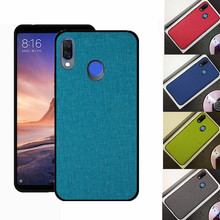 For Lenovo S5 Pro Case K5 back cover Shockproof Capa  PC+TPU Back coque K5Pro S5pro Fabric Cover