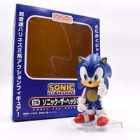 Original Box Sonic die Vivid Nendoroid Serie PVC Action Figure Sammlung PVC Modell Kinder Kinder Spielzeug Freies Verschiffen