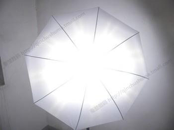 43 - inch straight handle non-cross dead light soft light umbrella / light-transmitting umbrella 16 - fiber umbrella bone CD50