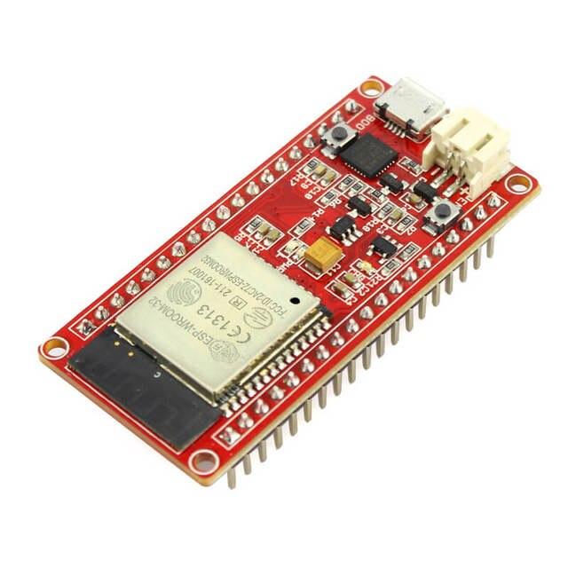 Elecrow esp32 wifi iot placa de desenvolvimento ESP WROOM 32 lua wi fi bluetooth nodemcu iot programável módulo sem fio kit diy