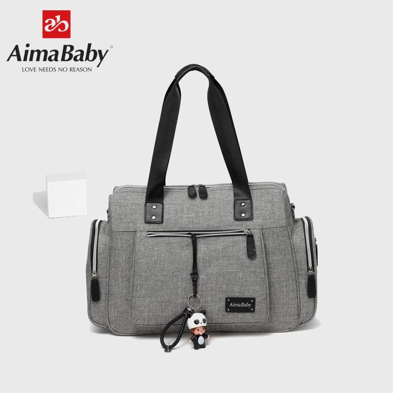 Grand sac à langer organisateur sacs à couches sacs de maternité pour mère bébé sac poussette sac à main sac à main Bolsa Maternidade