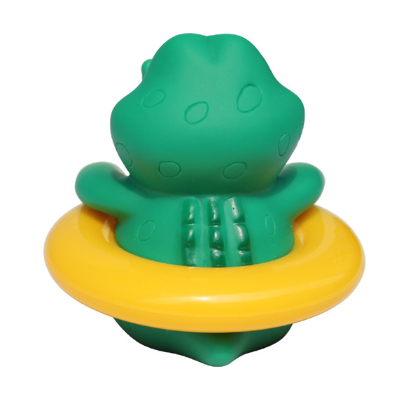 Animal Baby Infant Bathroom Shower Tub Swimming Poor Rubber Float Water Thermometers temperature Tester Toy For Kids Childern