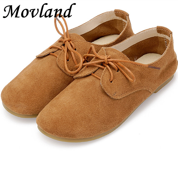 Movland-Genuine Cow   Suede     leather   Fltas Pure handmade shoes forest small clear Sen shoes Retro   Leather   strap and 2WAY baby shoes