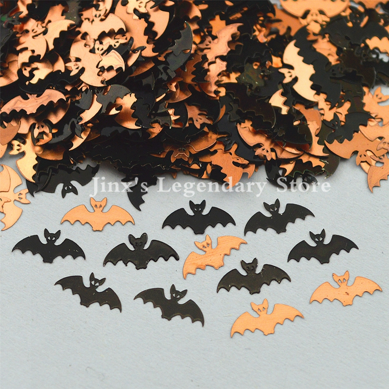 2018 black bat design decorations metal nail foil decals sticker for 3d Nail Art Decor Slice Stickers Decal  beauty tools 24pcs lot 3d nail stickers decal beauty summer styles design nail art charms manicure bronzing vintage decals decorations tools