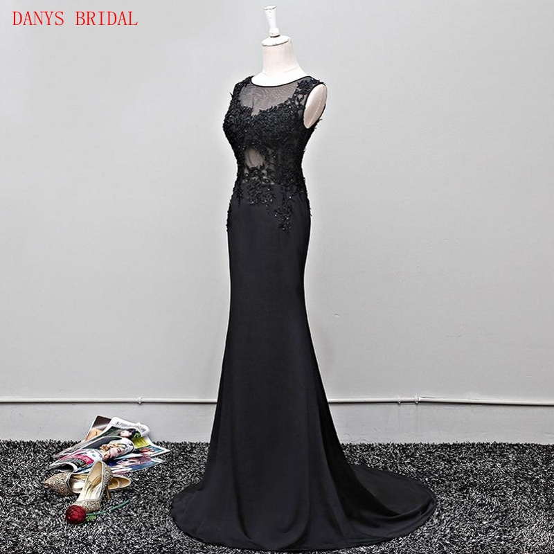 Hairstyle For Wedding Godmother: Black Lace Mermaid Mother Of The Bride Dresses Gowns For