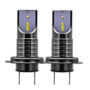 2 Pcs H7 LED Headlight Bulbs C