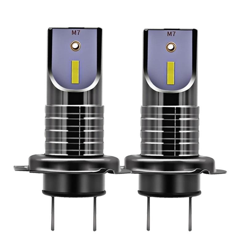 2 Pcs H7 LED Scheinwerfer-birnen Conversion Kit CSP Chips 30000LM 50 W 9005 9006 Auto Scheinwerfer Lampe Auto Licht h11 6000 K 12 V 24 V
