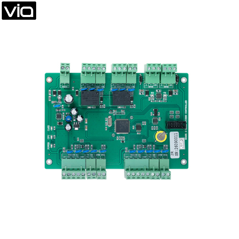 MC-5824R Free Shipping RS485 Two Doors Access Control Board Manage Two Doors, 100,000 Event Logs, Provides Two 7A Lock Relay