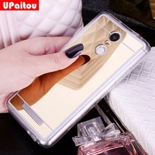 UPaitou Mirror TPU Case For Xiaomi Redmi 4A 3S Y1 S5 Note 5A 4 4X 3 Pro Prime Mi 8 SE Max 2 2S 5X A1 Mix 6 6X 5 5C 5S Plus Cover(China)
