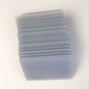 Image 4 - משלוח חינם 230pcs ריק פלסטיק הזרקת דיו להדפסה עסקים PVC מזהה כרטיס שקוף שם כרטיס עבור Epson/Canon מדפסת