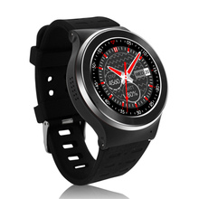 2016 neueste Smartwatch S99 Bluetooth Smart Uhr Android 5.1 MTK6580 1,3 «voll Runde Heart Rate 3G WIFI Für iOS Android