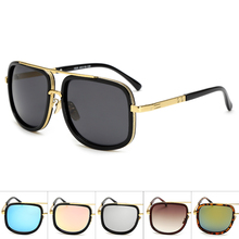 1ff359d17d Oversized Men mach one Sunglasses men luxury brand Women Sun Glasses Square Male  retro de sol