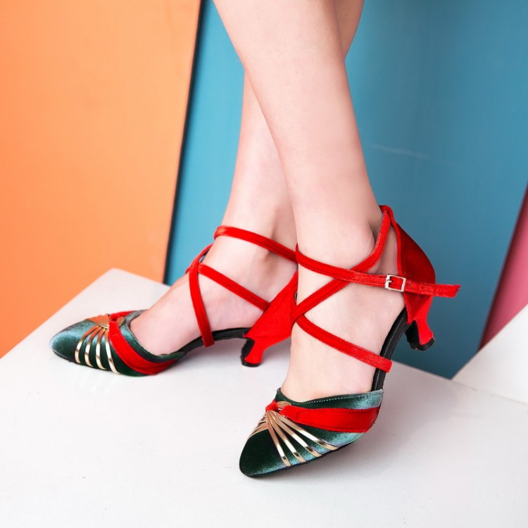 Big Size 11 12 13 14 15 16 17 high heels sandals women shoes woman summer ladies Medium heel sandals in color matchingBig Size 11 12 13 14 15 16 17 high heels sandals women shoes woman summer ladies Medium heel sandals in color matching