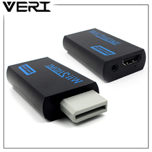 VERI For WII to HDMI Adapter Converter Support 480P 720P1080P 3.5mm Audio For HDTV Monitor Gamepad Wii2HDMI Game Video Output