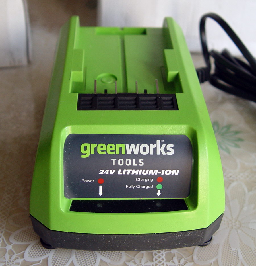 Electric tool Lithium battery charger second hand Brand new For Greenworks Charger 24V lithium battery