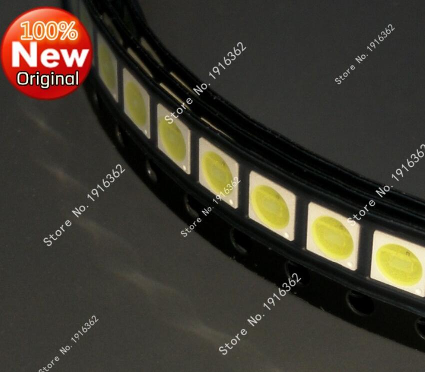 100pcs/lot 3030 Smd Led Beads 3v Cold White 70lm 140ma For Tv Backlight Led To Win Warm Praise From Customers