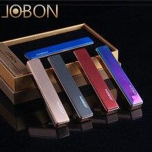 Бренд JOBON металл зеркало USB легче ветрозащитный Зажигалки Мужчины Электронные Авто-прикуриватели Бизнес Gifts-ZB-679